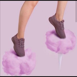 ALLBIRDS Kotare Plum Wool Runner Sneakers